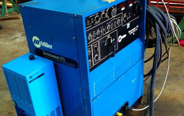 Miller Syncrowave 375 AC/DC Water Cooled TIG Welding Machine