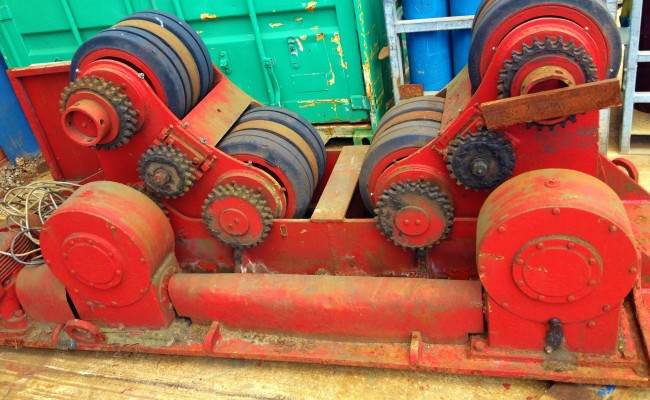 1 BODE 50 Tonne SAR Welding Rotators reconditioning