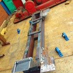 10 Tonne Welding Rotator build process 0