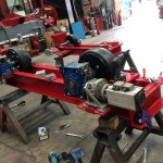 10 Tonne Welding Rotator build process 7