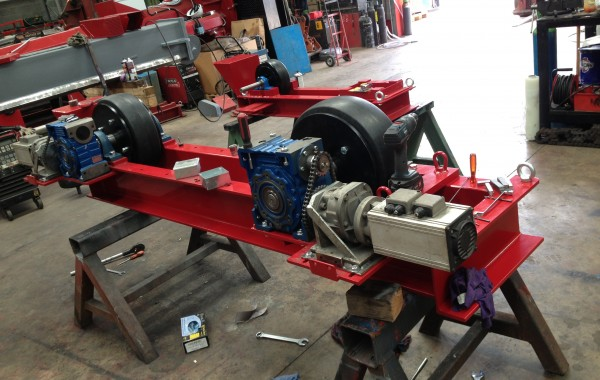 10 Tonne Conventional Welding Rotators Build Process