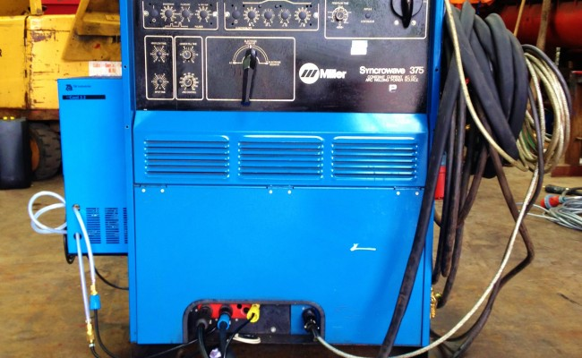 Miller Spectrum 375 >> Miller Syncrowave 375 AC/DC Water Cooled TIG Welding Machine