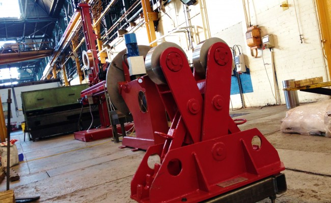 2.5m x 2.5m Column and Boom Welding Manipulator with NA-5 12