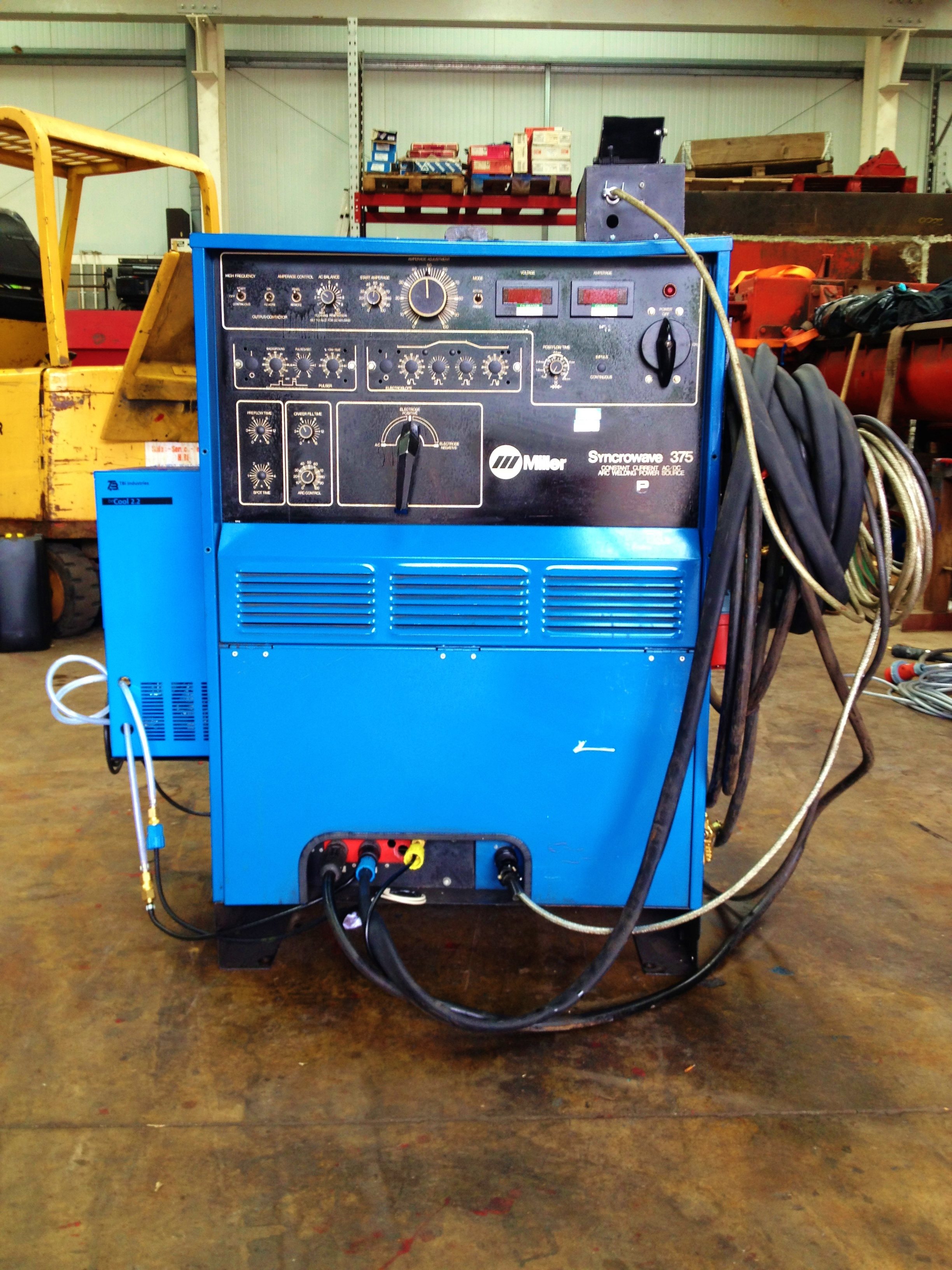 Miller Syncrowave 375 Ac Dc Water Cooled Tig Welding Machine 200 Wiring Diagram 2