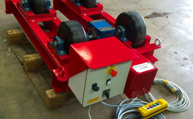 5. 5 Tonne Welding Rotators Brand New 110V