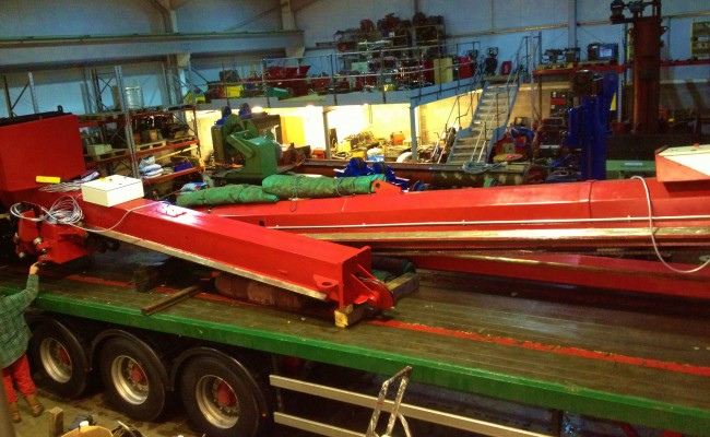 7m x 7m Column and Boom Welding Manipulator 5