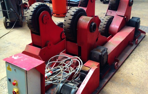 BODE 15 Tonne Self Aligning Welding Rotators