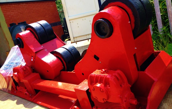 BODE 20 Tonne Self Aligning Welding Rotators