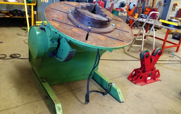 BODE 3 Tonne Welding Positioner with Chuck