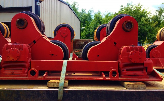 BODE 30 Tonne Self Aligning Roators 5