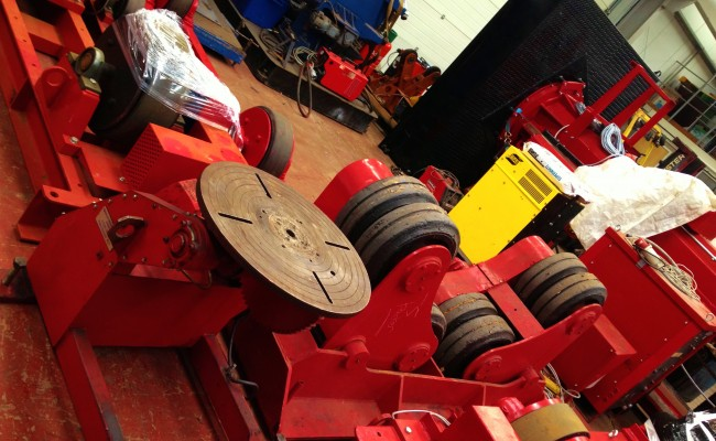 BODE 30 Tonne Self Aligning Roators