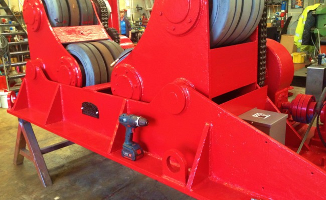 BODE 50 Tonne SAR Welding Rotators reconditioning 10