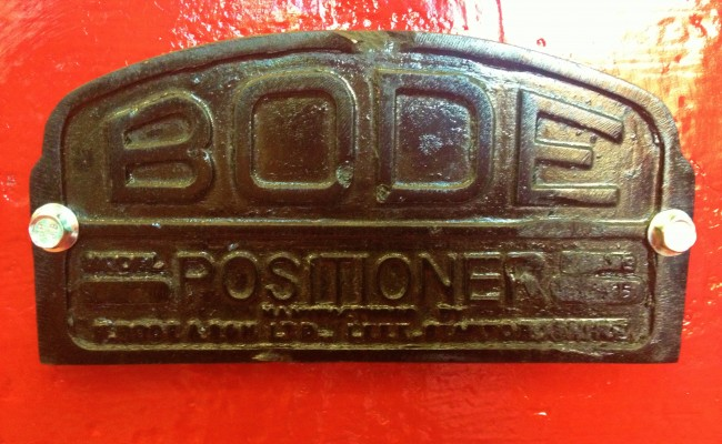 BODE 50 Tonne SAR Welding Rotators reconditioning 13