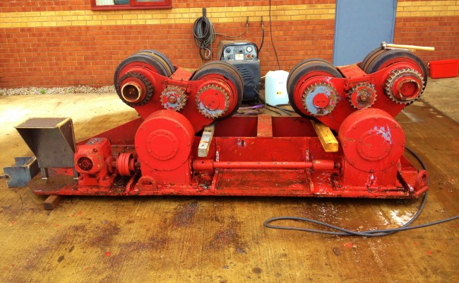 BODE 50 Tonne SAR Welding Rotators reconditioning 2