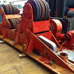 BODE 50 Tonne SAR Welding Rotators reconditioning 3