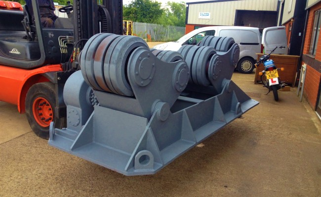 BODE 50 Tonne SAR Welding Rotators reconditioning 4
