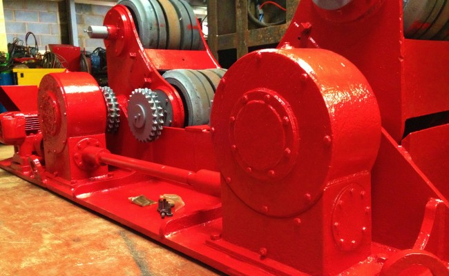 BODE 50 Tonne SAR Welding Rotators reconditioning 6