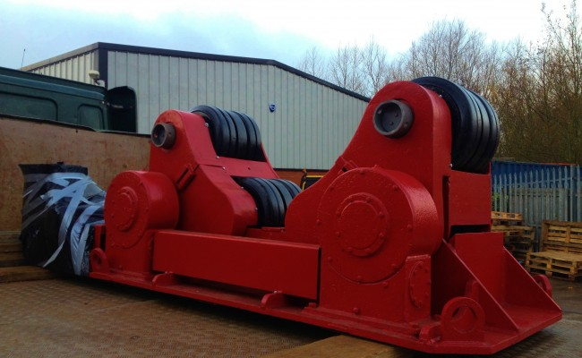 BODE 50 Tonne SAR Welding Rotators reconditioning 7
