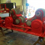 BODE 50 Tonne SAR Welding Rotators reconditioning 8