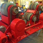 BODE 50 Tonne SAR Welding Rotators reconditioning 9