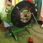 BODE 500 kg Welding Positioner with Chuck and Foot Pedal