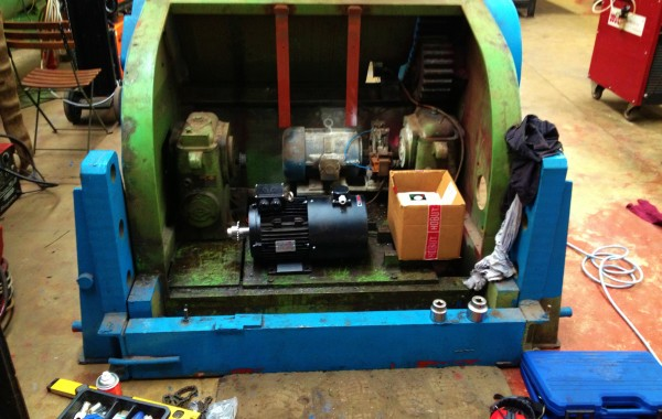 BODE 7.5 Tonne Welding Positioner Reconditioning Process
