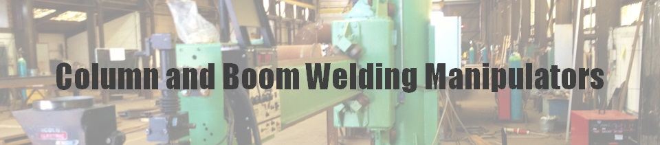 Column and Boom weld automation title