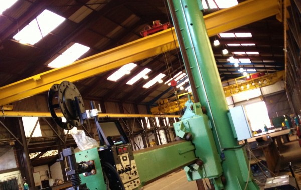 BODE 4 m x 5 m Column and Boom Welding Manipulator