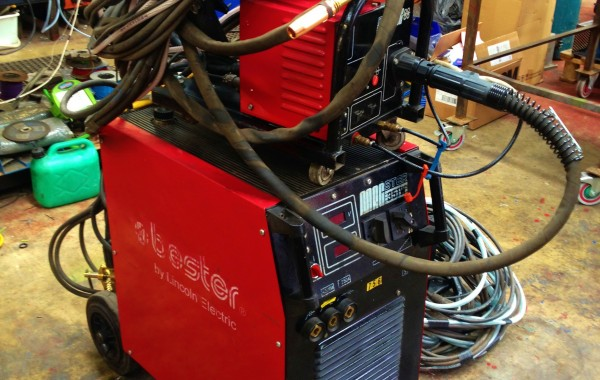 Lincoln Electric Bester Magster 351W Water Cooled MIG Welder