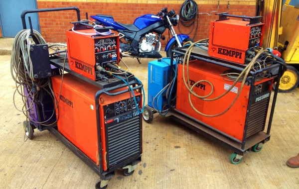 Kemppi PSS 5000 AC/DC Water Cooled TIG Welding Machine