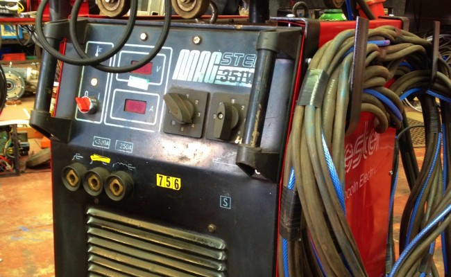 Lincoln Electric Bester 351W Water Cooled MIG 351 3