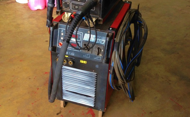 Lincoln Electric Bester 351W Water Cooled MIG 351 6