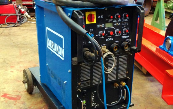 Oerlikon Citoarc T3100P AC/DC Water Cooled TIG Welding Machine