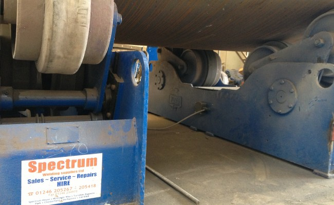 Spectrum Welding Rotators on Site 7