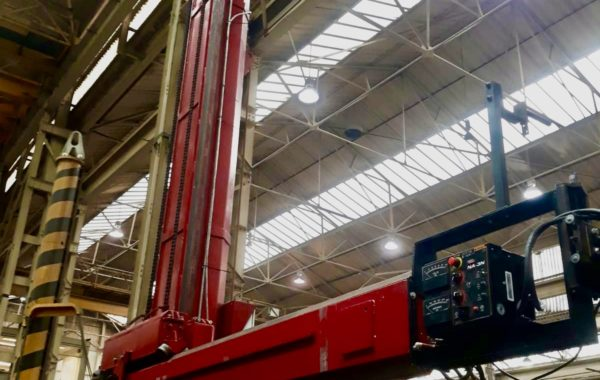 Spectrum Hire Plant 7 m x 7 m Column and Boom Sub Arc Welding Manipulator