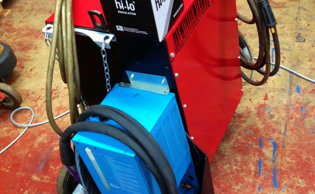 Transmig 500 Water Cooled MIG Welding Machine 1