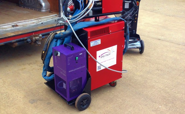 Transmig 500 Water Cooled MIG Welding Machine 11