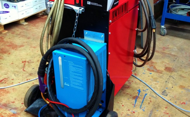 Transmig 500 Water Cooled MIG Welding Machine 2