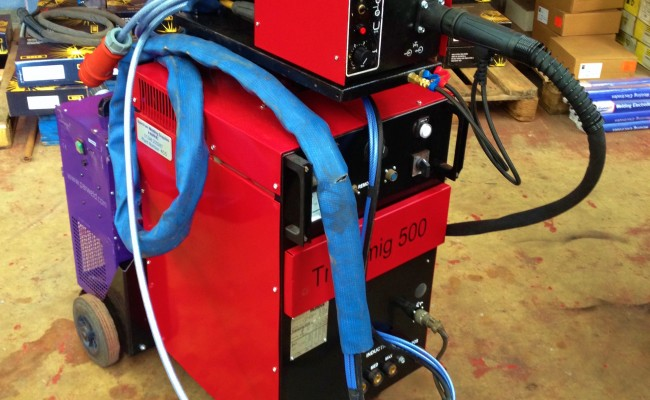Transmig 500 Water Cooled MIG Welding Machine 4