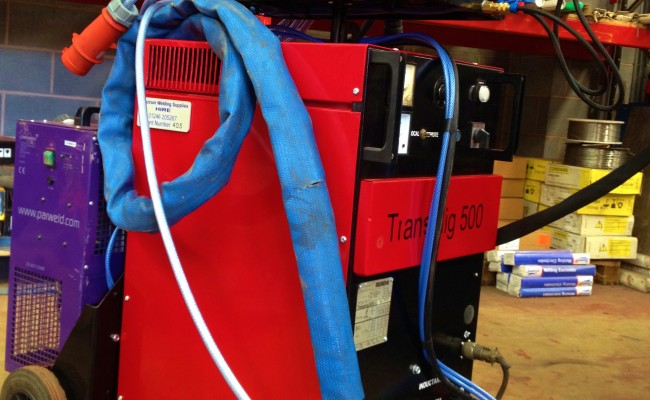 Transmig 500 Water Cooled MIG Welding Machine 5