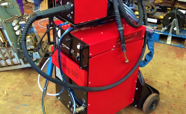 Transmig 500 Water Cooled MIG Welding Machine 6