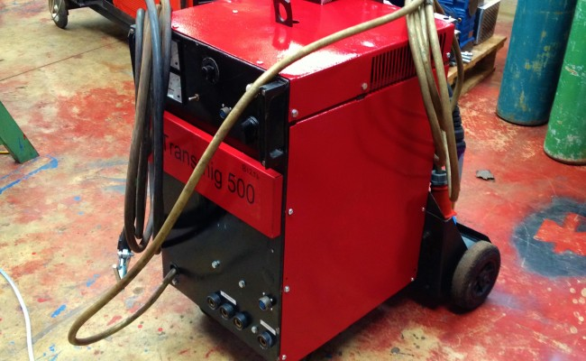 Transmig 500 Water Cooled MIG Welding Machine