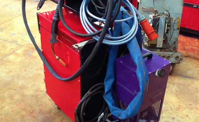 Transmig 500 Water Cooled MIG Welding Machine 7