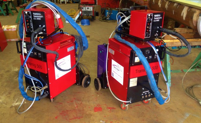 Transmig 500 Water Cooled MIG Welding Machine 9