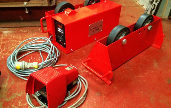 1 Tonne Pipe Rotators complete with Foot Pedal