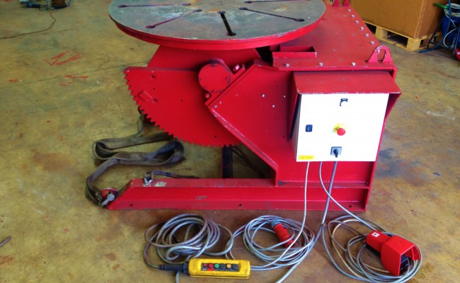 3 MPE 3 Tonne Welding Positioner
