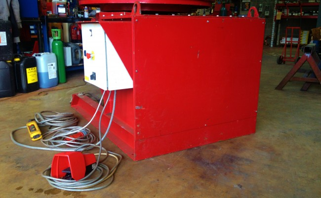 4 MPE 3 Tonne Welding Positioner