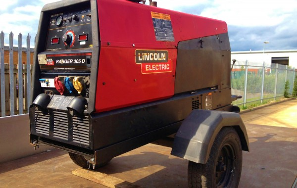 Lincoln Electric Ranger 305 D Diesel Welder Generator