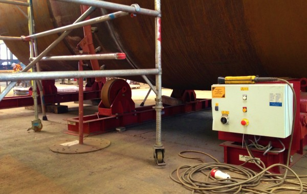 40 Tonne Conventional Welding Rotators