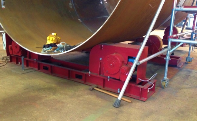 5 40 Tonne Conventional Welding Rotators